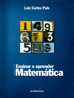 Ensinar e aprender matemática