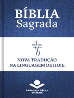 Bíblia Sagrada NTLH - Nova Tradução na Linguagem de Hoje