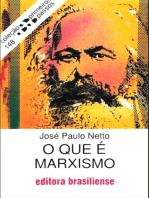 O que é marxismo