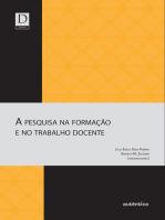 A pesquisa na formação e no trabalho docente