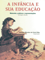 A Infância e sua educação