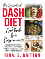 The Essential DASH Diet Cookbook for Beginners