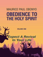 Living in Obedience to The Holy Spirit