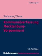 Kommunalverfassung Mecklenburg-Vorpommern