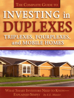 The Complete Guide to Investing in Duplexes, Triplexes, Fourplexes, and Mobile Homes What Smart Investors Need To Know Explained Simply
