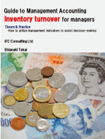 Guide to Management Accounting Inventory turnover for managers: Theory & Practice: How to utilize management indicators to assist decision-making