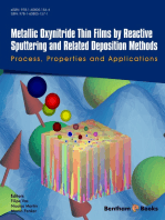 Metallic Oxynitride Thin Films by Reactive Sputtering and Related Deposition Methods