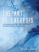 The Art of Exegesis