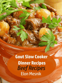 Gout Slow Cooker Dinner Recipes - Beef Recipes: Gout Slow Cooker Recipes, #1