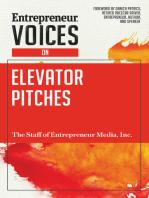 Entrepreneur Voices on Elevator Pitches