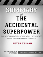 Summary of The Accidental Superpower