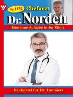 Chefarzt Dr. Norden 1132 – Arztroman