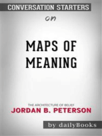 Maps of Meaning: The Architecture of Belief by Jordan B. Peterson | Conversation Starters