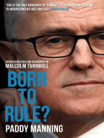 Born to Rule?
