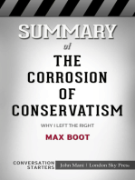 Summary of The Corrosion of Conservatism