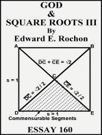 God & Square Roots III