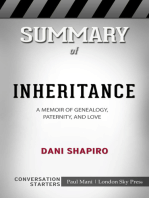 Summary of Inheritance