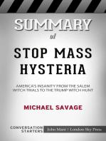 Summary of Stop Mass Hysteria