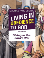 Living In Obedience To God