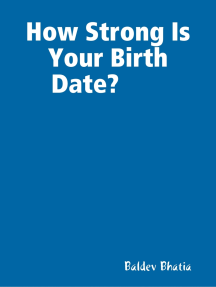 How Strong Is Your Birth Date?