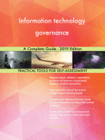 Information technology governance A Complete Guide - 2019 Edition