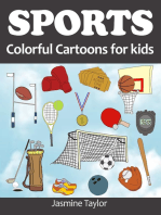 Sports Colorful Cartoons for Kids