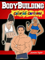 Bodybuilding Colorful Cartoons