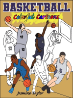 Basketball Colorful Cartoons