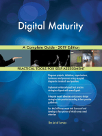 Digital Maturity A Complete Guide - 2019 Edition