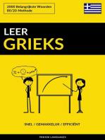 Leer Grieks