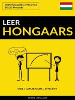 Leer Hongaars
