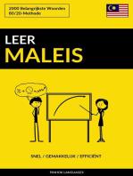 Leer Maleis