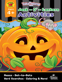 My Take-Along Tablet Jack-O'-Lantern Activities, Ages 4 - 5