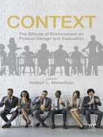 Context: The Effects of Environment on Product Design and Evaluation