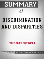 Summary of Discrimination and Disparities by Thomas Sowell | Conversation Starters