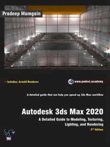 Autodesk 3ds Max 2020: A Detailed Guide to Modeling, Texturing, Lighting, and Rendering