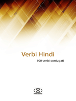 Verbi hindi (100 verbi coniugati)