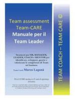Team Assessment Team-CARE - Manuale per Team Leader