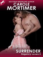 Surrender (Regency Lovers 5)
