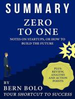 Zero To One - Unauthorized 33-Minute Summary