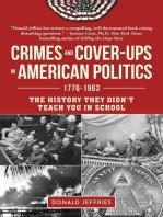 Crimes and Cover-ups in American Politics