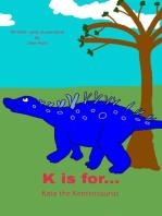 K is for... Kate the Kentrosaurus