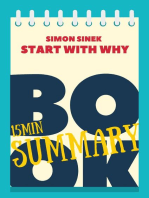 "15 min Book Summary of Simon Sinek 's book ""Start With Why"""