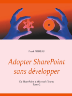 Adopter SharePoint sans développer: De SharePoint à Microsoft Teams  -Tome 2