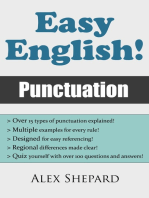 Easy English! Punctuation