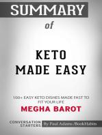 Summary of Keto Made Easy by Megha Barot   Conversation Starters