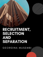 Recruitment, Selection and Separation