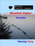 Blowfish Cipher Tutorials - Herong's Tutorial Examples