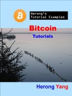 Bitcoin Tutorials - Herong's Tutorial Examples