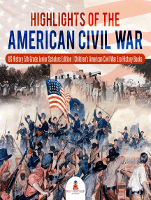 Highlights of the American Civil War | US History 5th Grade Junior Scholars Edition | Children's American Civil War Era History Books
